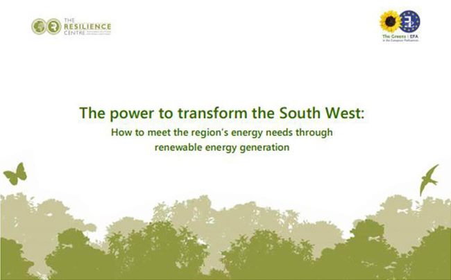 Strategic review for South West energy capacity